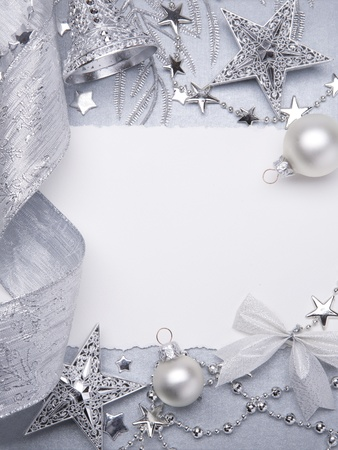 Art Christmas greeting card Stock Photo - 10460787