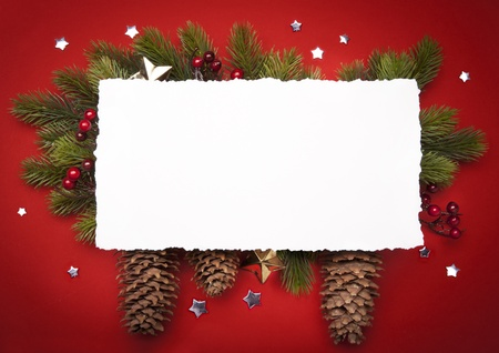 Art Christmas greeting card Stock Photo - 10460759