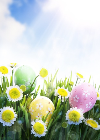 Easter Greeting Card Stock Photo - 10489430