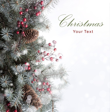 Christmas card Stock Photo - 10492901