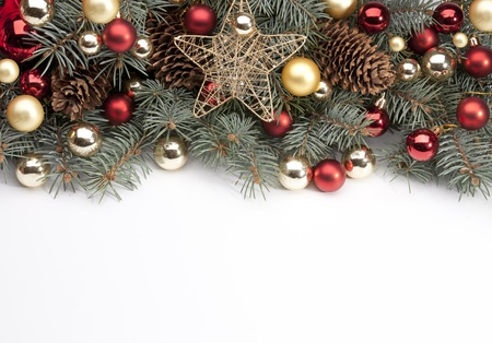 Art Christmas announcement photo