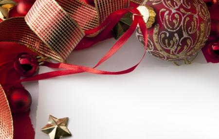 Art Christmas greeting card background photo