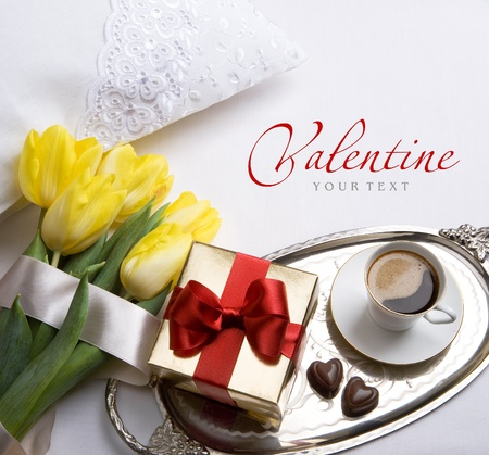 Happy Valentines Day morning photo