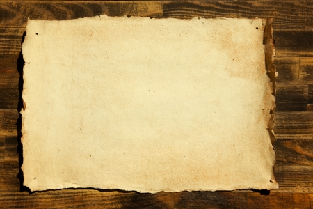 old paper and wood background Stock Photo - 12463335