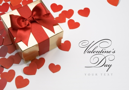 joy of giving: art valentines greeting card