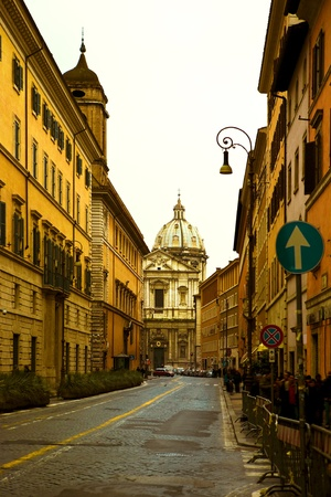 The Roman street  Stock Photo - 10650276