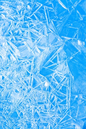 Abstract blue background winter, the frozen ice texture Stock Photo - 12136406