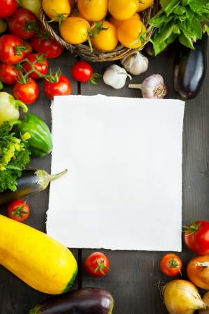 farmer's market  market: organic food background; Farmers Vegetable Market