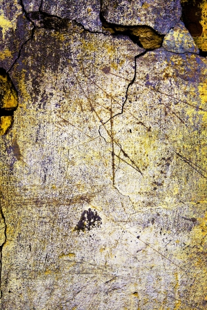 interstice: Stain of a paint