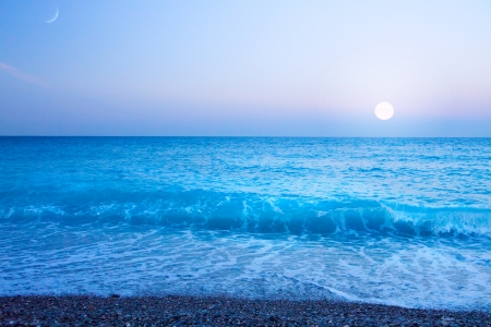 cote: Beautiful sea Cote d Stock Photo