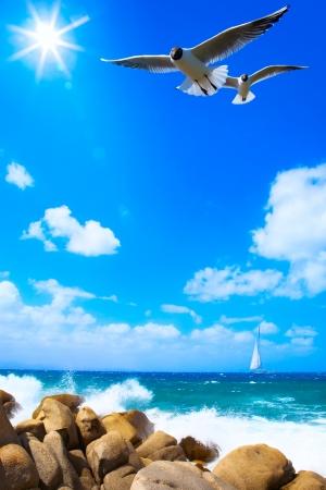 sea background Stock Photo - 20937359