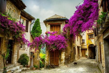 프로방스의 아름다운 옛 마을
