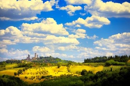 chianti: Art beautiful Italy Tuscan landscape