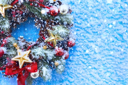Art Christmas and New Year's background Stock Photo - 23027395