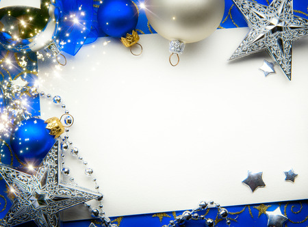 art Christmas greeting card Reklamní fotografie