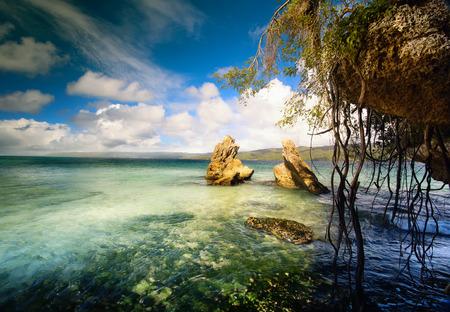 beautifu: Art  beautifu seaside view  background