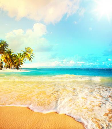 Art Summer vacation  ocean beach Reklamní fotografie - 26934479