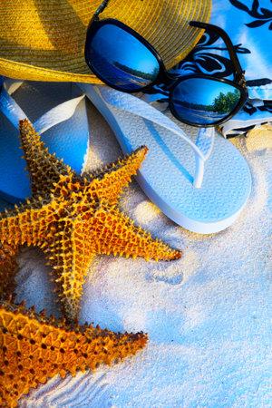 Fondo fiestas Arte de verano la playa del mar