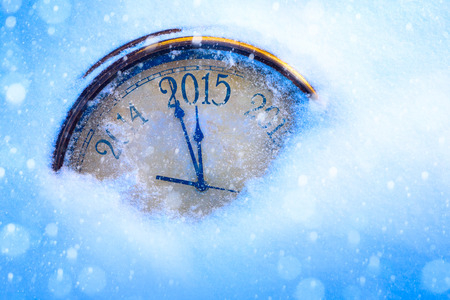 art 2015 christmas and new years eve Stock Photo