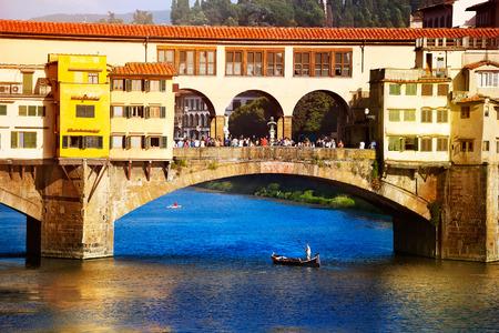 ponte: Art Ponte Vecchio, Florence, Italy