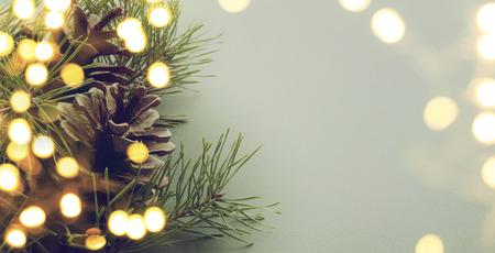 Navidad: Árbol de navidad de la luz