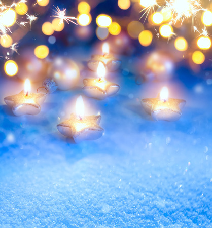 Kunst Weihnachtsbeleuchtung Hintergrund