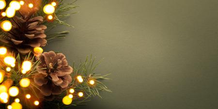 card background: Festa di Natale sfondo Archivio Fotografico