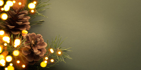 tarjeta de invitacion: Fiesta de Navidad de fondo
