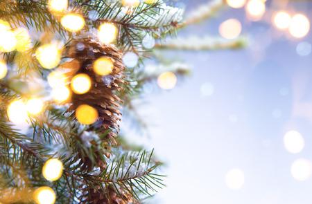 winter party: Festa di Natale sfondo Archivio Fotografico