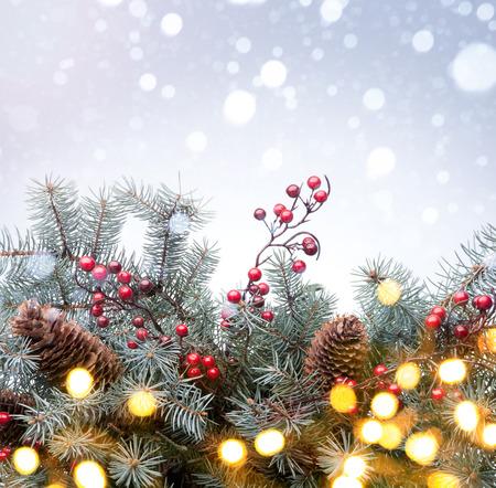 Arrière-plan de vacances de Noël Banque d'images - 34216757