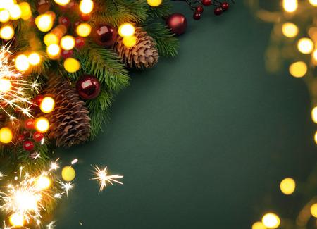 glücklich: Art Weihnachts-Grußkarte
