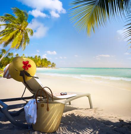 Art Dovolená na pláži v létě ráj