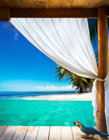 Art beautiful seaside view background photo