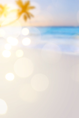Summer travel  beach background