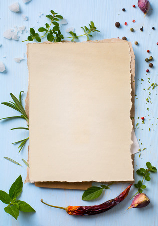 Art italian home cooking background; restaurant week