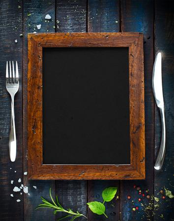 almuerzo: Menú de cafetería restaurante, diseño de la plantilla. Folleto de Alimentos