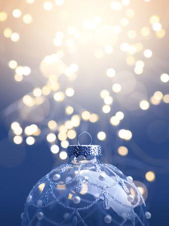 invitación a fiesta: fondo de arte de la Navidad; árbol de luz de la Navidad Foto de archivo