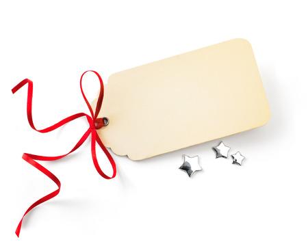 art Christmas sales tag