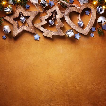 Christmas tree decoration; Christmas Background