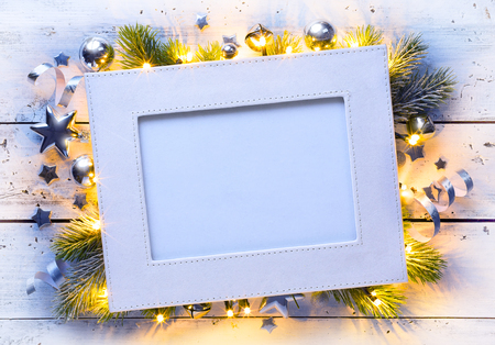 christmas background: art Christmas holidays background