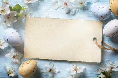 Colorful easter eggs. Arrière-plan avec des oeufs de Pâques Banque d'images - 53597402