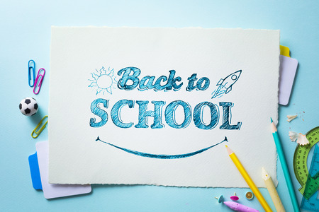 Art welcome Back To School Banner