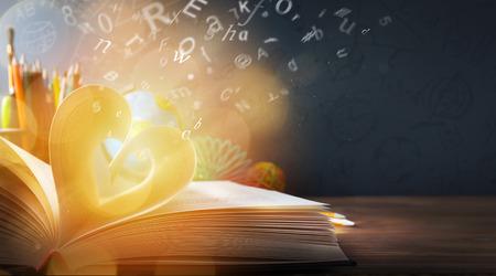 onderwijs: terug naar school achtergrond; onderwijs ontdekking