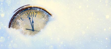 new year: Art 2017 szczęśliwego nowego roku wigilię tła