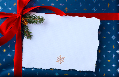 Christmas holidays surprise; Christmas greeting card background