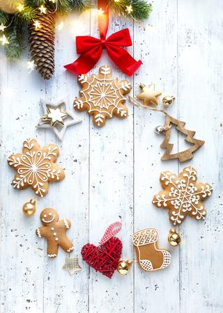 Christmas holidays decoration card background
