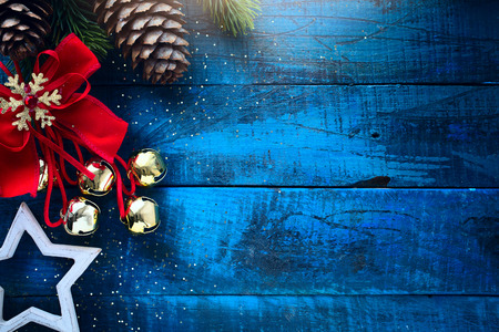 Christmas banner.  Xmas design for Horizontal christmas poster, greeting cards, headers, website
