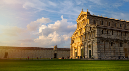 Cathedral building, Italy, Pisa