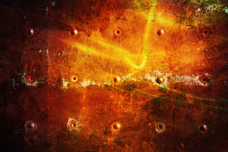 art red Grunge texture; Dark metal Background Imagens
