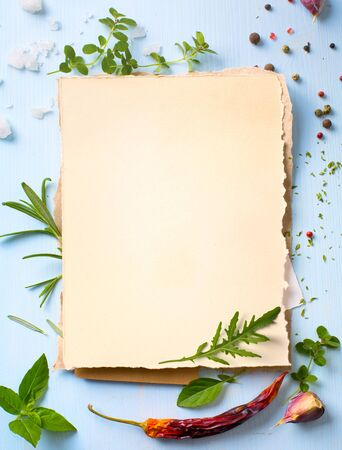 Art Italian Home Restaurant Kochhintergrund Standard-Bild